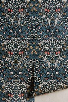 Blackthorn Wallpaper | House of Hackney X William Morris | Anthropologie