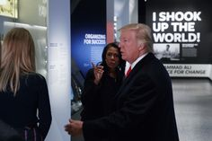 Trump visits the National Museum of African American History and Culture