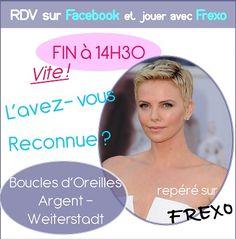 C'est maintenant ou jamais pour tenter votre Chance et gagner les #Boucles d'#Oreilles #Argent so Frexo sur http://www.facebook.com/frexo.fr !!!