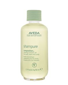 calming aromatic oil. nourishing blend of certified organic sunflower and meadow foam oils for body, bath, and scalp. shampure composition. create moments of peace. beloved calming aroma with 25 pure flower and plant essences. moisturizes and provides instant radiance.