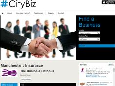 Have you seen us on the Citybiz website? #CityBiz Get in touch, we're looking forward to hearing from you! http://www.city-biz.biz/business-details/insurance-in-manchester/The-Business-Octopus/1447