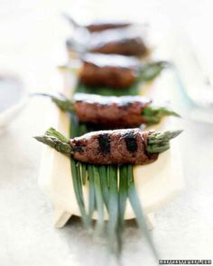 Beef and Asparagus Negimaki