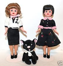 MADAME ALEXANDER Laverne and Shirley Boo Boo Kitty-limited addition of 2000 EUC