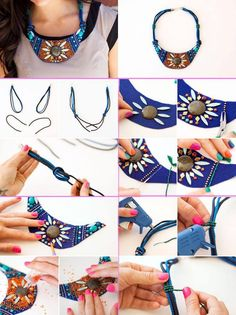 sweet necklace tutorial!