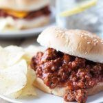 Homemade Sloppy Joes -a quick and simple recipe that replaces that store bought can of sauce!