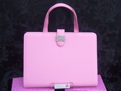 Pink Planner Handbag - DIY - for you to accessories with your own stationery and sparkles !