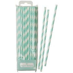 Buy Talking Tables Stripey Straws, Pack of 25 Online at johnlewis.com