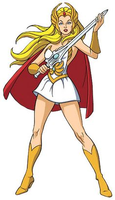 The original CrossFit girl! Seriously I was Shera for Halloween.
