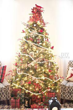 Birds and Berries Christmas Tree ~ Michaels Dream Tree Challenge