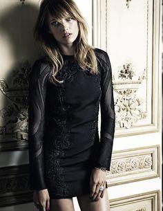 Karmen Pedaru by Claudia Knoepfel & Stefan Indlekofer for Vogue Russia August 2013