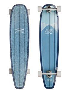 Quiksilver Rapa Nui Blue skateboard