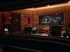 The music studio!