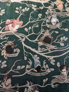 Harry Potter Wallpaper from MinaLima in London Harry Potter Poster, Harry Potter Universal, Harry Potter Characters, Harry Potter World, Harry Potter Family Tree, Sirius Black, Regulus Black, Hogwarts, Family Tree Wallpaper