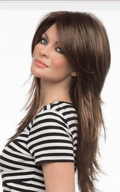 Long shag hairstyle                                                                                                                                                                                 More