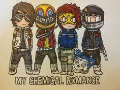 My Chemical Romance. Killjoys. Pinning bc this is my lock screen rn~