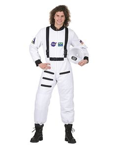 Click Image Above To Purchase: Space Shuttle Commander Adult Costume - Astronaut Costumes Costumes For Teens, Adult Costumes, Cosplay Costumes, Halloween Costumes, Astronaut Costume, 1920s Party, Space Shuttle, Jumpsuit, One Piece