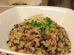 Fried Rice, Risotto, Fries, Ethnic Recipes, Food, Eten, Meals, Stir Fry Rice, Diet