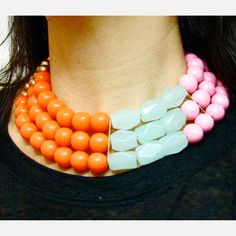 Miami Vice Necklace  by Irene Wood