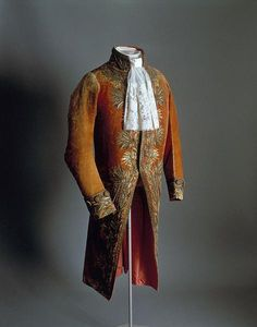"""The justaucorps from Napoleon's First Consul uniform. This can be seen in many contemporary paintings of the """"Corsican upstart""""."""