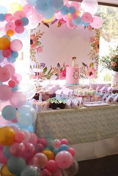 Shabby chic Baptism Party Ideas | Photo 1 of 85 | Catch My Party