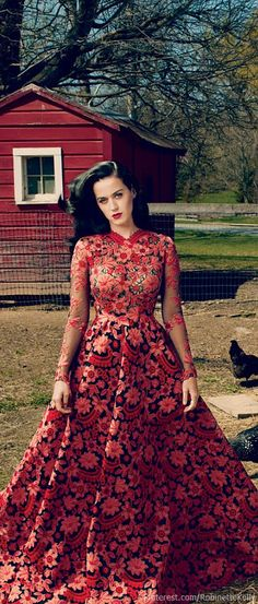 Katy Perry | Valentino Haute Couture, S/S 2013