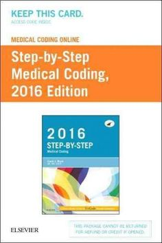 Medical Coding Online Step-by-Step Medical Coding, 2016 Edition Access Card