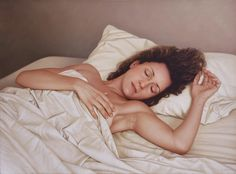 Sara dormida óleo sobre lienzo / oil on canvas 60 x 81 cm