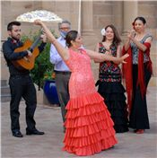 Andalusian Flamenco Wednesday, August 20, 2014 7:30 pm Old Martina's Hall 4140 State Road 68 Ranchos de Taos, NM Price: $10.00