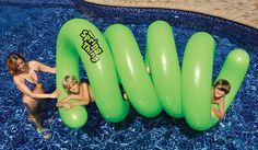 The Swimline Spring Thing Inflatable Pool Toy is wacky water fun! Epic Pools, Cool Pools, My Pool, Pool Spa, Inflatable Pool Toys, Inflatable Float, Giant Inflatable, Lake Toys, Swimming Pool Toys