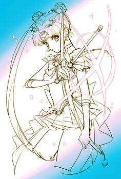 World of Eternal Sailor Moon — Fanart by    ♥최엠제님 ♥ 디페 Z20.
