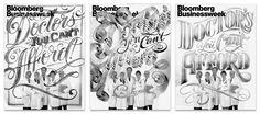 Erik Marinovich - Bloomberg Businessweek Cover #design #typography