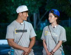Song Ji Hyo and Kim Jong Kook, Running Man ep. 303