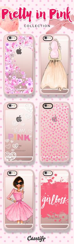 Pink isn't just a colour, it's an attitude. Take a look at our Pretty in Pink collection now! https://www.casetify.com/collections/pretty_in_pink | @casetify