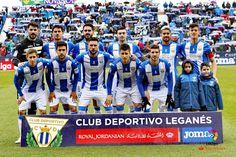 Equipos de fútbol: LEGANÉS contra Sporting de Gijón 12/02/2017