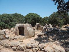 Tomb of the chief  (Pranu Mutteddu, Goni - Sardinia; Late Bronze Age)