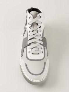 Lanvin Paneled Hi-top Sneakers - Vitkac - Farfetch.com