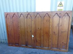 New Reclamation Stock - Frome Reclamation Oak Panels, Wrought Iron Gates, Entrance Ways, Architecture, Arquitetura, Entry Ways, Wrought Iron Doors, Architecture Design, Architects