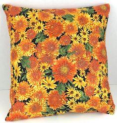 Fall Sunflower Pillo