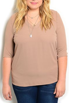 DHStyles Women's Khaki Plus Size Classy Dressy Sheer Chiffon V Neck Top - 3X Plus #sexytops #clubclothes #sexydresses #fashionablesexydress #sexyshirts #sexyclothes #cocktaildresses #clubwear #cheapsexydresses #clubdresses #cheaptops #partytops #partydress #haltertops #cocktaildresses #partydresses #minidress #nightclubclothes #hotfashion #juniorsclothing #cocktaildress #glamclothing #sexytop #womensclothes #clubbingclothes #juniorsclothes #juniorclothes #trendyclothing #minidresses…