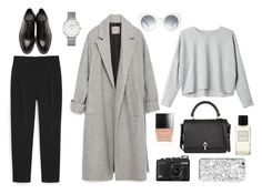 """""""gxitci"""" by ktsarskaya ❤ liked on Polyvore featuring MANGO, Zara, CLUSE, Yang Li, Monki, Carven, Butter London, Marc Jacobs and INDIE HAIR"""