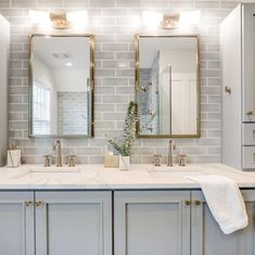 DIY master bathroom decor and tips on a tight budget. Ideas for organization, storage, decorating, and renovations. Bathroom Renos, Bathroom Renovations, Bathroom Interior, Bathroom Furniture, Bathroom Ideas, Bathroom Organization, Spa Master Bathroom, Bathroom Images, Budget Bathroom