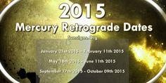 Mercury Retrograde Dates 2015 - 2016 » Sun Signs