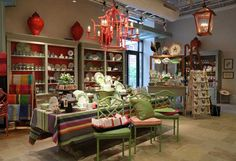 Caspari Retail Showcase Display. Charlottesville, VA.