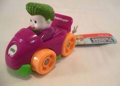 FisherPrice-Little-People-Wheelies-Batman-Joker-Car-Action-Figure-Toys-Boys-Girl