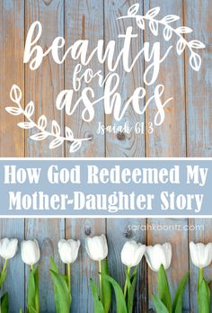 Our God is in the restoration business; there is no relationship on earth beyond the reach of His agape love. It's not easy to love your mom—selflessly and without expectation—but it is what God asks of us. And God never asks anything He does not also empower us to do. | Mother Daughter Relationship | Forgiveness | Love My Mom | Mother's Day