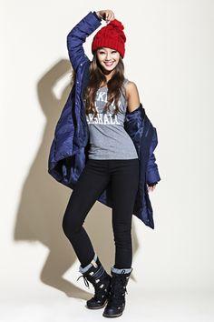 Love her outfit! Sistar' Hyo Rin - Bcuz F/W 2014