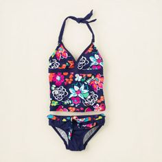 place shops - Swim - girl - belted tankini | Children's Clothing | Kids Clothes | The Children's Place