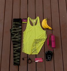 What are your workout essentials? Pack that gym bag up, and off you go.