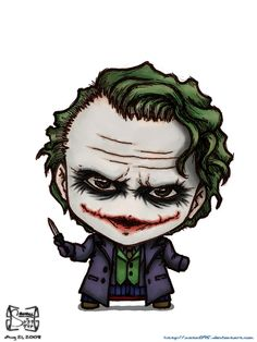 The Joker by Batman Comic Art, Gotham Batman, Joker Batman, Batman Robin, Joker Pics, Joker Art, Joker Cartoon, Cartoon Art, Cute Deadpool