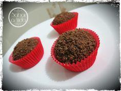 Brigadeiro Gourmet de Chocolate Diamante Negro